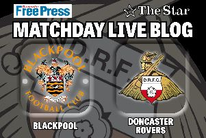 Blackpool v Doncaster Rovers