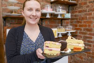 The Delightful Touch'Natalie Stacey and some of the specialist cakes she makes and sells