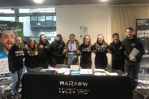 Sheffield students are building up the bone marrow register