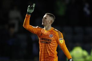 Dean Henderson is currently on loan at Sheffield United from Manchester United. Simon Bellis/Sportimage