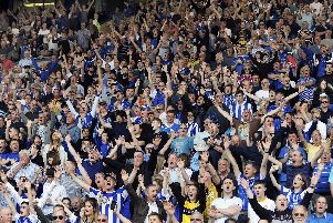 Sheffield Wednesday fans in fine voice at Hillsborough earlier this season