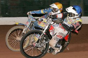 Ricky Ashworth (inside) during his time with the Tigers