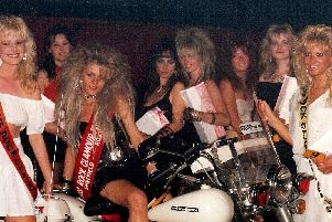 The Roxys famous Miss Rock Glamour competition that used to be an annual event as part of its Monday Rock Night
