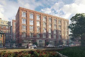 How the Old Coroner's Court site could look if plans for an apartment block are approved (pic: Firestone Developments)