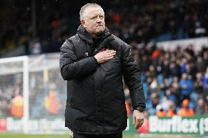 Chris Wilder says supporters can make the difference: Simon Bellis/Sportimage