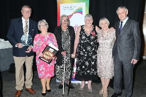 A group of South Yorkshire volunteers have won a national award