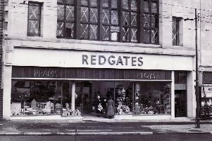 Redgates Toy Shop, Sheffield'4th December 1954