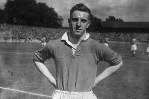 Stan Milburn, pictured, and his brother George were both Spireites