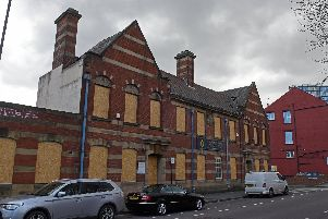 The Old Coroner's Court on Nursery Street, just outside Sheffield city centre