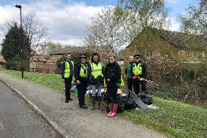 Places for People national spring clean success in Sheffield