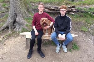 The boys on the bench they restored to use