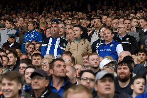 Sheffield Wednesday fans. (Photo by George Wood/Getty Images)