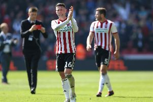 Sheffield United celebrate their win over Nottingham Forest: James Wilson/Sportimage