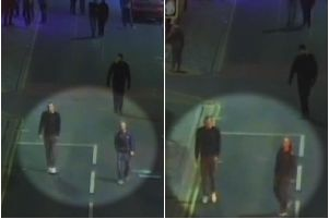 Police would like to speak to these men in connection with the incident.