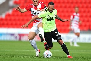 Ricky Holmes is back at Bramall Lane after his loan spell at Gillingham was cut short through injury. Simon Bellis/Sportimage