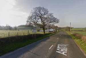 A man has died after coming off his motorbike on the A6 near Carnforth on Sunday (October 6)