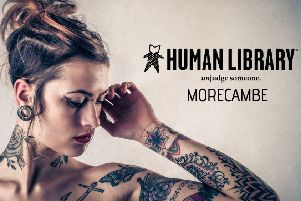 Human Library comes to Morecambe.