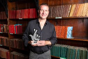 Get It Loud in Libraries founder, Stewart Parsons, has been awarded a prestigious Local Legend Award as part of the 25th Birthday National Lottery Awards.