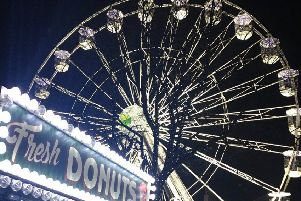 The big wheel in Dalton Square