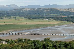 Kent Viaduct, near Arnside