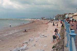 Morecambe's beaches have been rated 'good' for water quality.