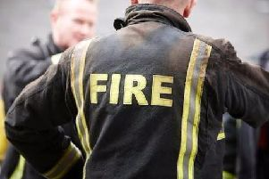 A discarded cigarette was the cause of a blaze in Lancaster this afternoon.