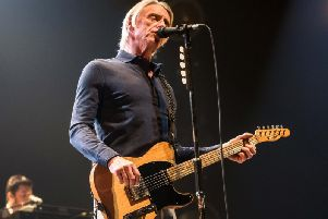 Paul Weller is on tour celebrating the 40th anniversary of his first album In The City