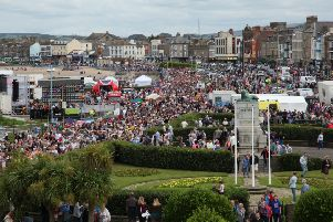 Morecambe Carnival crowd. Picture by Trimpell Camera Club.