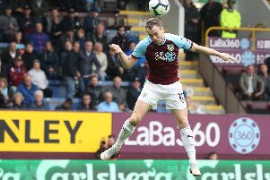 Ashley Barnes came off the bench to score two goals and seal the victory