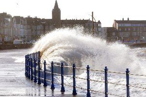 Weather warning for 'strong winds and heavy rain' in Lancaster and Morecambe