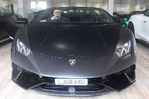 Man who raffled off his £845k Lancashire mansion is back with a Lamborghini...for £1.80