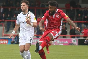 Jordan Cranston has signed a new contract with Morecambe