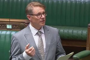 David Morris MP speaking in Parliament about Eden Project North.
