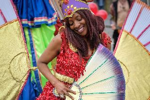 The Caribbean Carnival hits the streets around Moor Park in Preston on Sunday