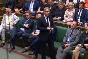 Davis Morris speaking in Parliament about the Eden Project.