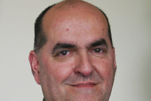 Dr Geoff Jolliffe, the new Clinical Chair of NHS Morecambe Bay Clinical Commissioning Group (CCG).