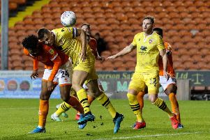 Morecambe conceded another five goals in their midweek loss at Blackpool