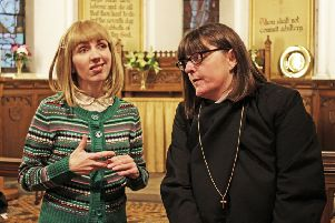 Footlights production of The Vicar of Dibley.