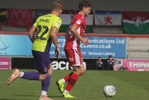 Shaun Miller netted his first of the season