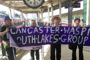 Lancaster and South Lakes WASPI women take fight to BBC