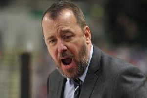 Coach Paul Thompson: sent off to cap a double defeat weekend against Belfast Giants