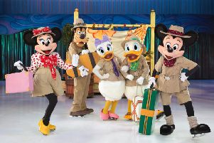 Minnie, Mickey and all their pals will be skating in for Disney On Ice Passport To Adventure at Sheffield Fly DSA Arena from Wednesday to Sunday, November 15 to 19, 2017.