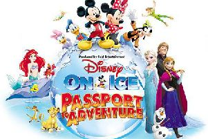 Disney On Ice Passport To Adventure at Sheffield Fly DSA Arena November 15 to 19, 2017
