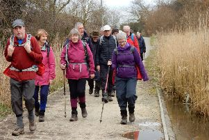 A healing walk with Doncaster Ramblers