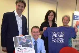 Marathon cycle to boost cancer fight