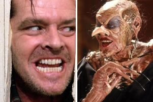 The pop-up cinema will screen spooky classics The Shining and The Witches
