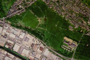Planning to build abusiness parkon a greenfield site,off Coal Pit Lane, Clifton, has been carriedby Calderdale Council