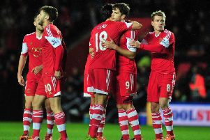 Jay Rodriguez and Jack Cork during their time together at Southampton