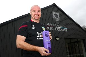 Burnley boss Sean Dyche is February's Barclays Premier League Manager of the Month