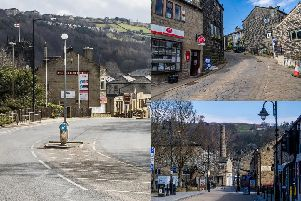 21 pictures showing deserted Calderdale streets as residents stay at home during lockdown